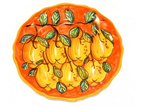 Dinner Plate Lemon Orange