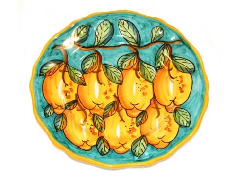 Dinner Plate Lemon Green
