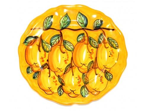 Dinner Plate Lemon yellow