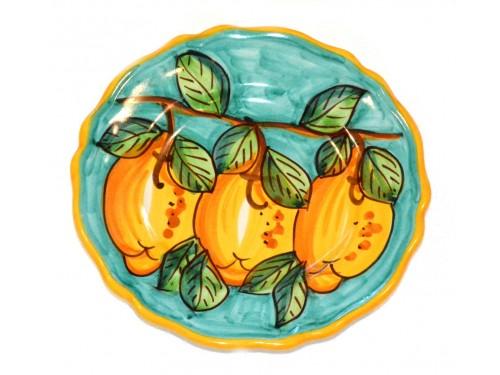 Salad Plate Lemon Green
