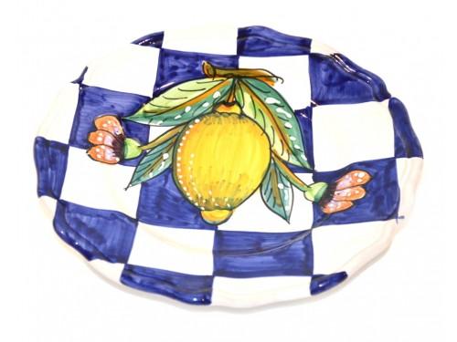 Salad Plate Modern Lemon (1st version)