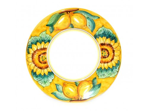 Dinner Plate Lemon Sunflower Yellow