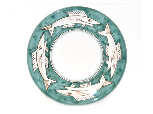Salad Plate Anchovies green