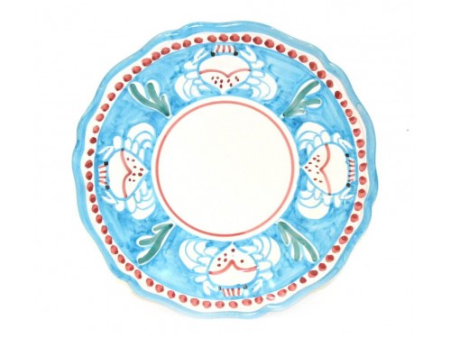 Salad Plate Crab light blue