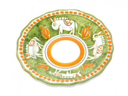 Pasta Plate donkey green