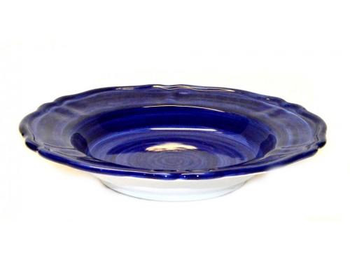 Pasta Plate Monocolor blue