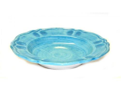 Pasta Plate Monocolor light blue