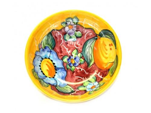 Soup bowl Lemon Flower yellow