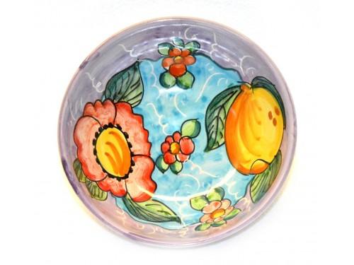 Soup bowl Lemon Flower pink