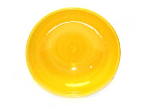 Bolo cm18 monocolore giallo
