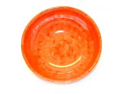 Bolo cm18 monocolore arancione