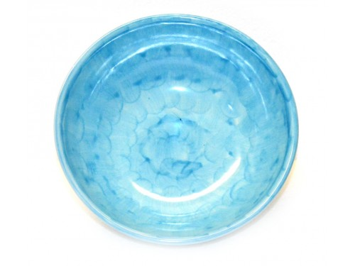 Soup bowl Monocolor light blue