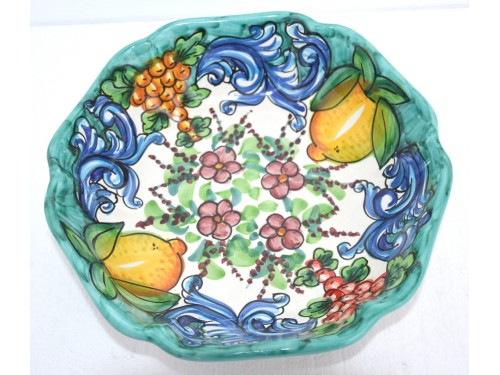 Serving Bowl Barocco Green