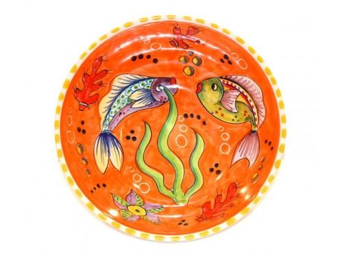 Bolo da portata Pesci arancione