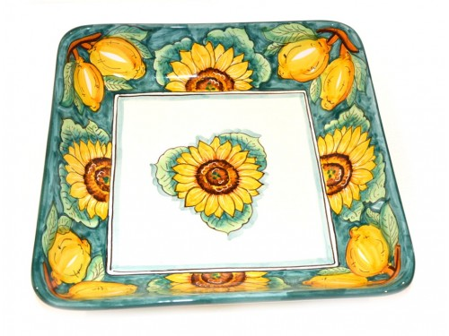 Squared Bowl Sunflower green