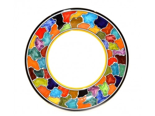 Dinner Plate Multicolor