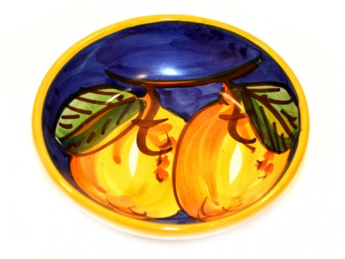 Condiment Bowl Lemon Blue 4,70 inches