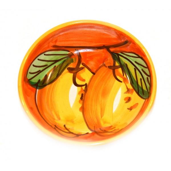 Condiment Bowl Lemon Orange 4,70 inches