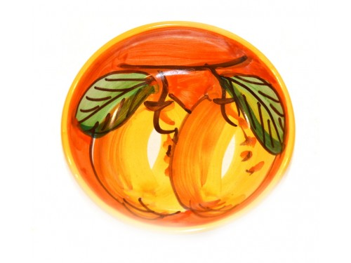 Condiment Bowl Lemon Orange 4,70 inches