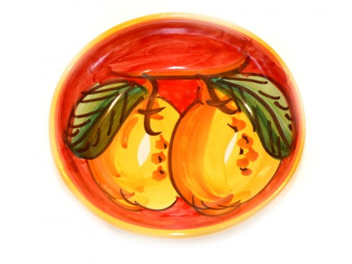 Condiment Bowl lemon red 4,70 inches