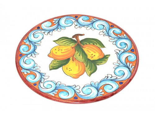 Cake Plate Lemon version 7 (11,80 inches)