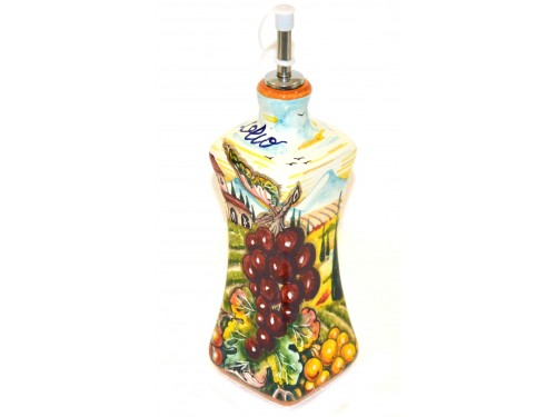 Bottiglia Olio Boccia Uva