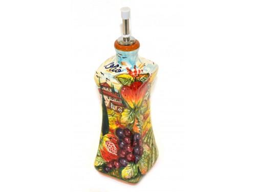 Bottiglia Olio Boccia Frutta Mista