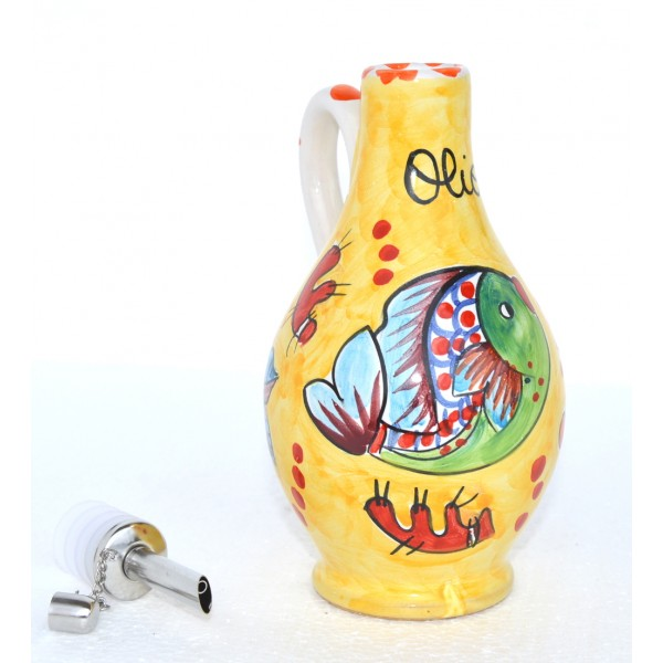 Oil Bottle Fishes yellow