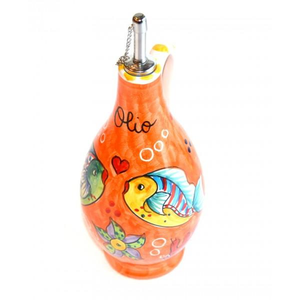 Oil Bottle Fishes orange