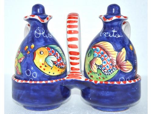 Oil & Vinegar Fishes Blue