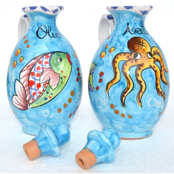 Oil & Vinegar Fishes light blue