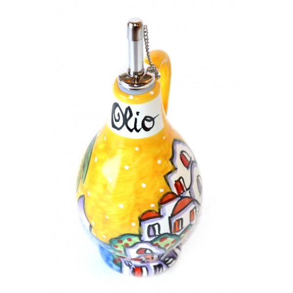 Bottiglia Olio Casette giallo