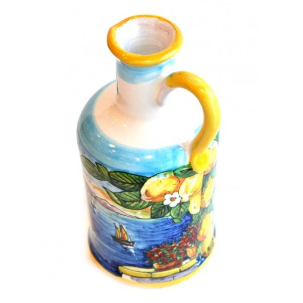 Oil Bottle Amalfi Style yellow