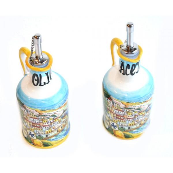 Oil Vinegar Amalfi Style yellow