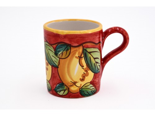 Mug Lemon red