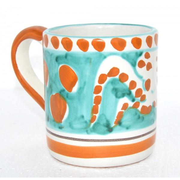 Mug Octopus green