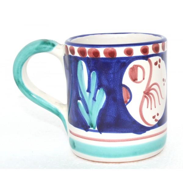 Mug Puffer Fish Blue