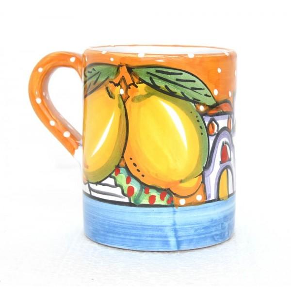 Bicchiere Casette arancione