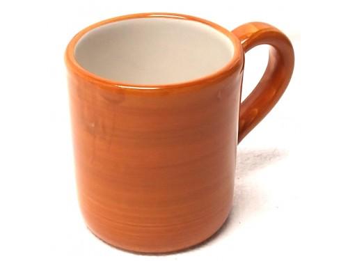 Bicchiere Monocolore arancione