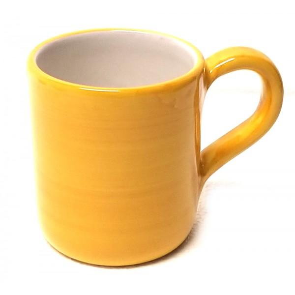 Bicchiere Monocolore giallo