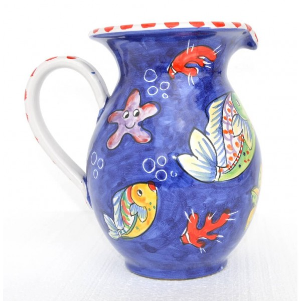 Pitcher Fishes blue