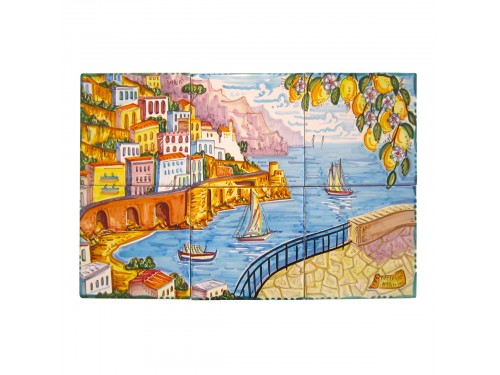 Set 6 tiles Amalfi