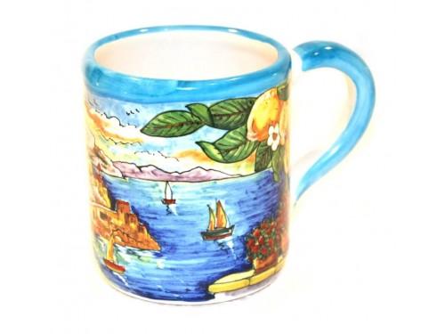 Bicchiere Stile Amalfi celeste
