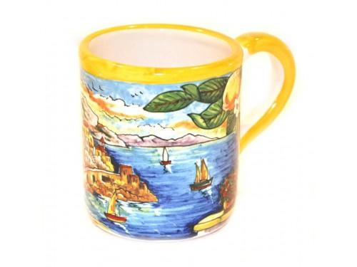 Bicchiere Stile Amalfi giallo