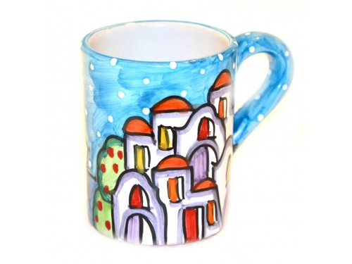 Mug Houses light blue