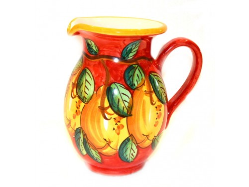 Pitcher Lemon red