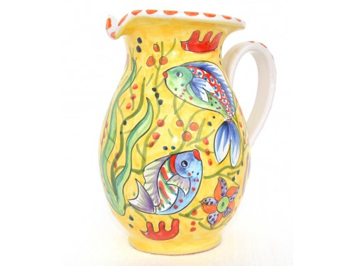 Pitcher Fishes yellow