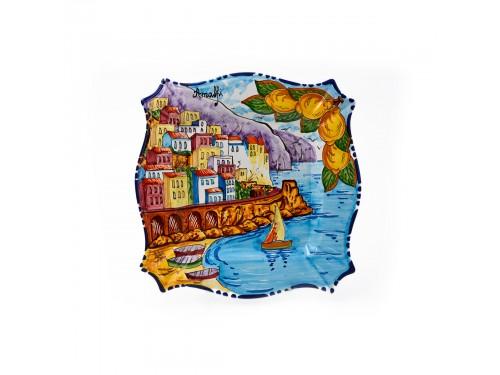 Piatto quadrato Amalfi