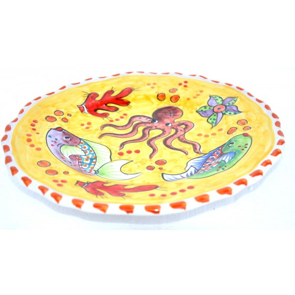 Dinner Plate Fishes yellow