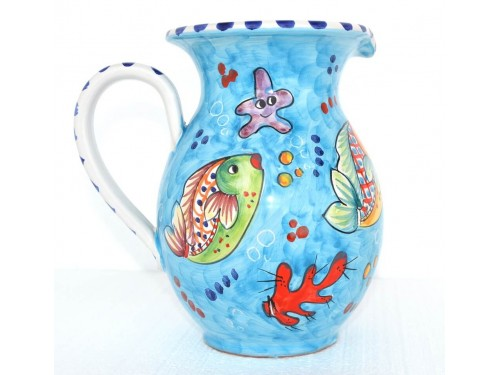 Pitcher Fishes light blue